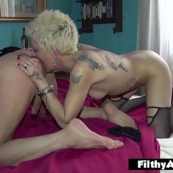 Grampa VS Squirting Milf! Dirty old man want to fuck!