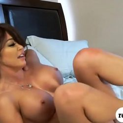 Huge boobs woman drilled hard and deep