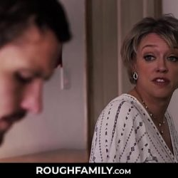 Mom Comforts her Son – RoughFamily.com