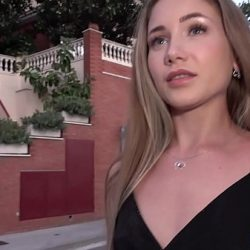Public Agent Beautiful Russian Mary Rock fucking in a short black dress